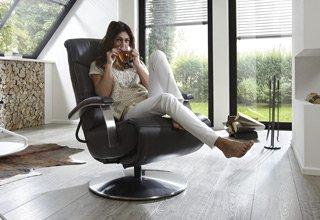 Sessel zur optimalen Entspannung
